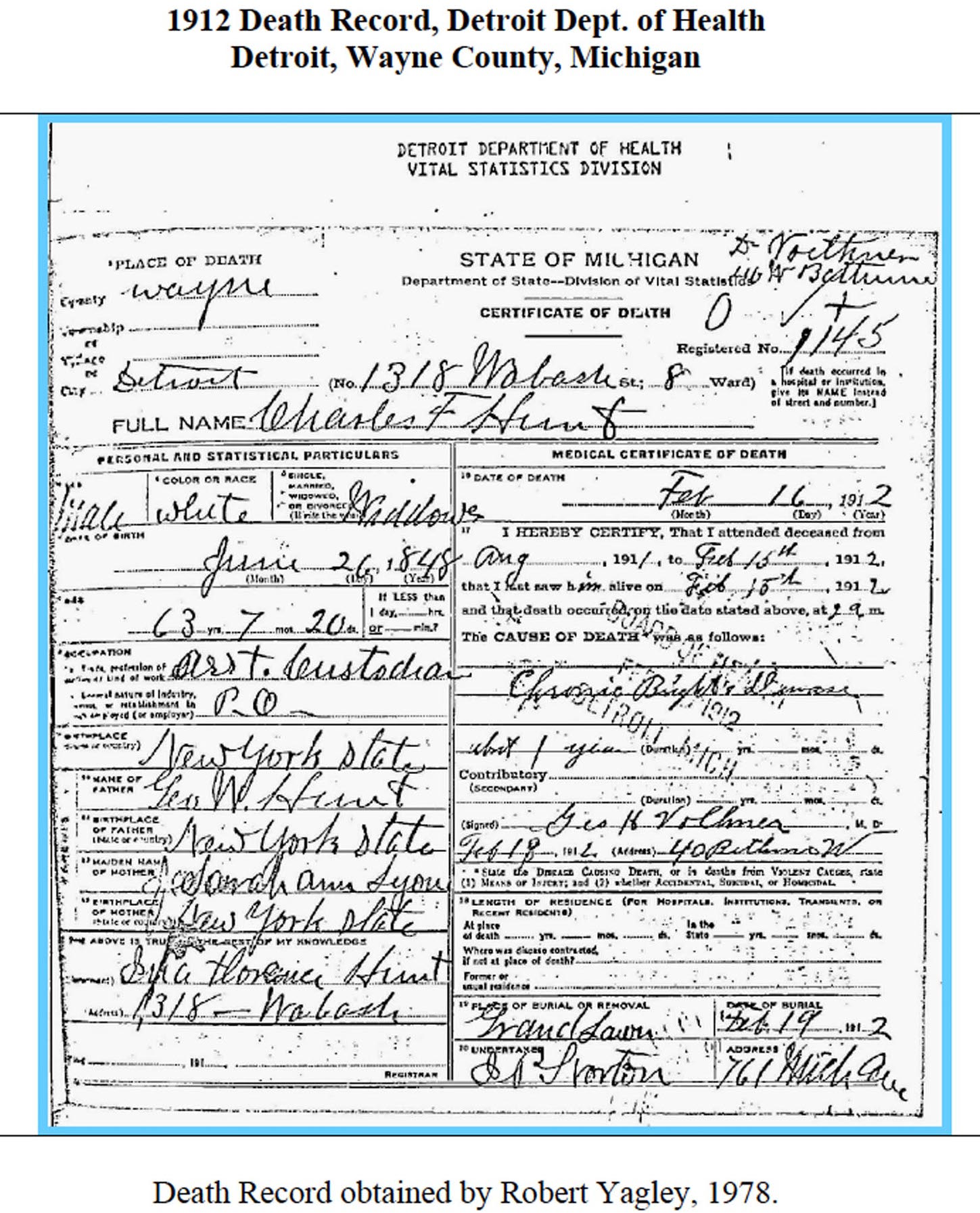 Sources 1912 death certificate detroit wayne co michigan file 1912deathhuntcharlesmi 1betcityfo Images